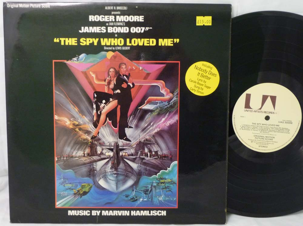 Kingbee Records Shop in Manchester - Soundtracks and ...The Spy Who Loved Me Soundtrack