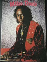 Miles Davis 16 page A4 Art Catalogue from 1994