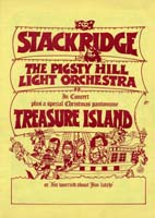 Stackridge Concert / Panto Programme!