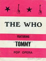 The Who Tour Programme