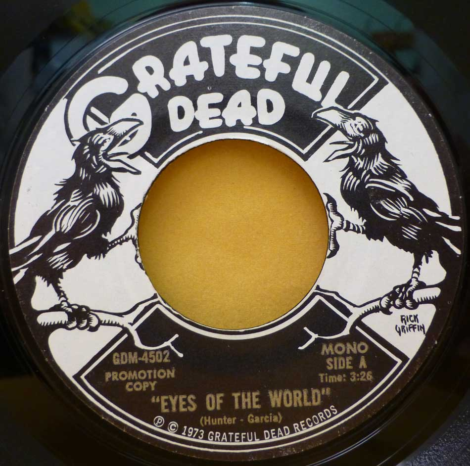 haircut discount coupon kingbee records shop in manchester classic and 6059 | grateful dead eyes of the world promo single gdm 4502