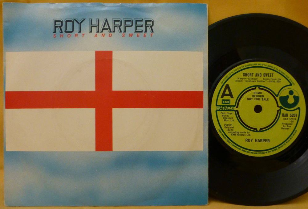 haircut discount coupon kingbee records shop in manchester classic and 6059 | roy harper promo single short and sweet harvest har 5027