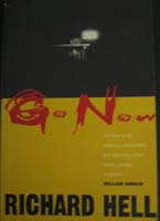 Go Now - autographed by Richard Hell