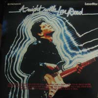 Tonight With Lou Reed Laserdisc